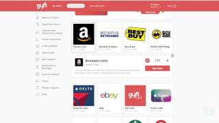 How To Buy Any Gift Card Using Paypal or Bitcoin | HD