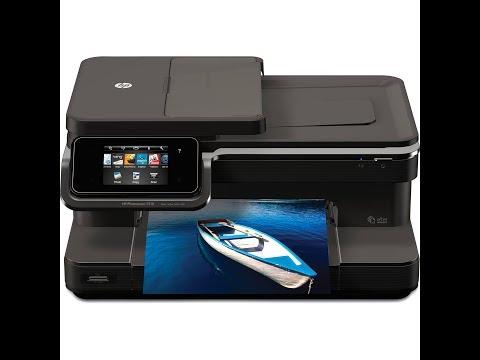 Hp Photosmart 7515 - How To Clean Printhead