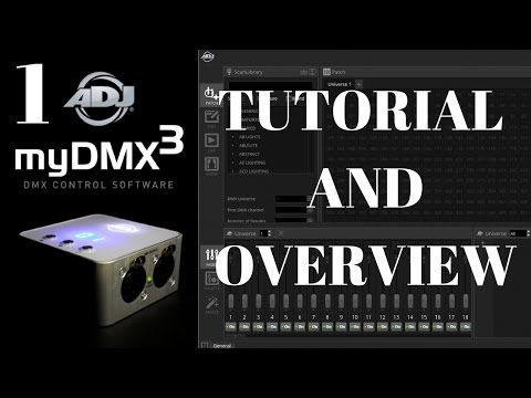 myDMX 3 Software Tutorial(Part 1)
