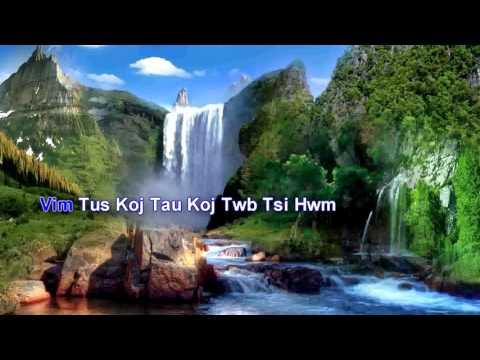 Tuam Yaj - Tsi tau los Tsi Chim - KARAOKE