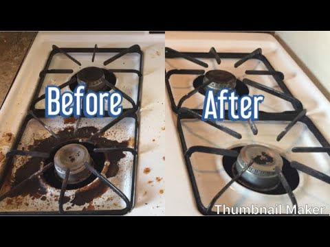 Cleaning Hacks  How to clean Gas Stove quick and easy in Tamil Baking soda uses