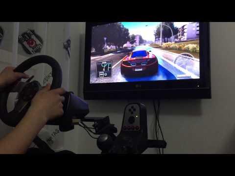 g27 racing wheel) tdu2