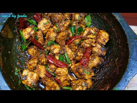 ASMR-Bachelor Special Recipe-Easy Chettinad Pepper Chicken.!!!||Easy Chettinad Pepper Chicken Recipe