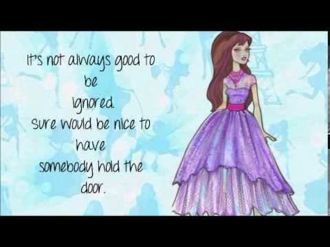 Barbie a Fashion Fairytale - Another Me w/lyrics