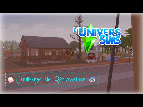SIMS 4 🛠️ CHALLENGE RENOVATION UNIVERSIMS 💚 #1