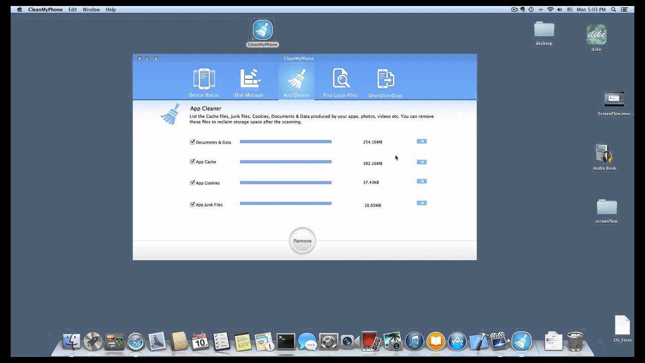 what is documents & data on iphone
