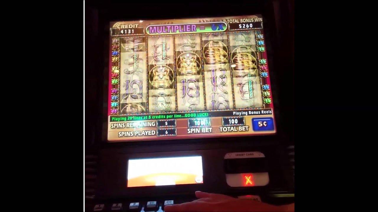 Cleopatra Ii Slot 5 Cents Bonus Parx Casino Youtube