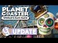 🌍 World's Fair DLC Overview | Planet Coaster