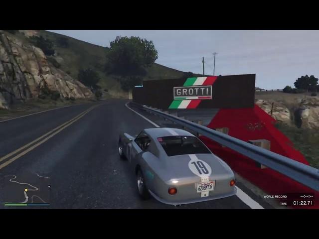 GTA Online Race: Colline Grotti - link in descritpion