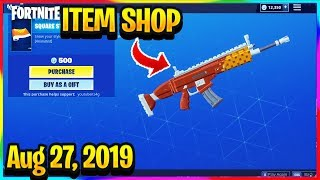 FORTNITE ITEM SHOP *NEW* SQUARE STREAM WRAP AND PSYCHO SKIN BUNDLE! | ITEM SHOP (Aug 27, 2019)