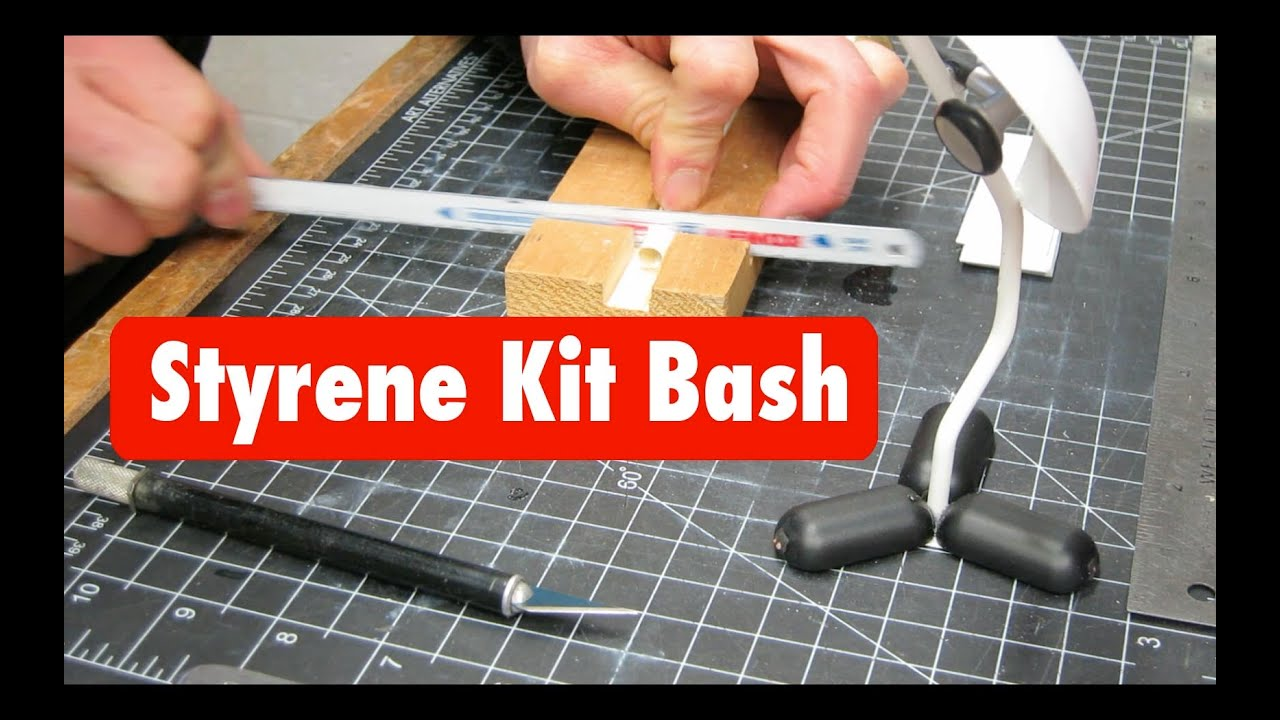 Styrene tutorial advance basic kit bash mock up model for Construction tips and tricks