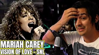 (HD) Mariah Carey - Vision of Love (Saturday Night Live, 1990) | Reaction