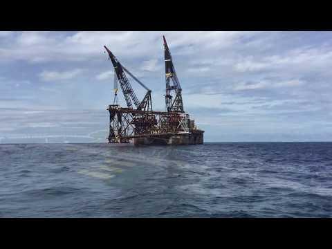 Offshore Thialf jan 2017