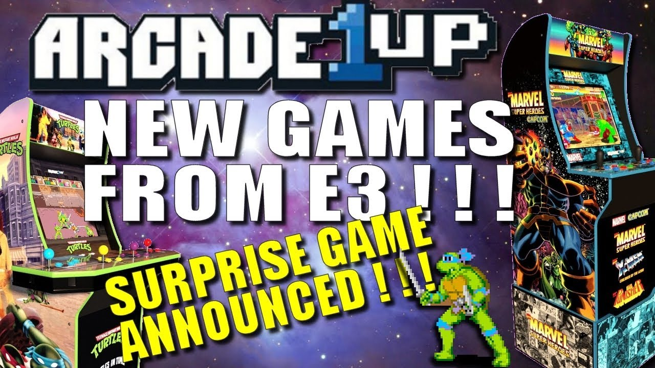 Arcade 1up New Games Announced At E3 2019 Youtube