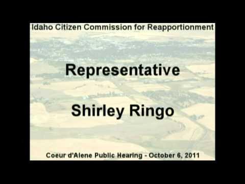 Rep. Shirley Ringo, Cd
