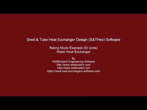 Shell and Tube Heat Exchanger - step by step calculations to help in