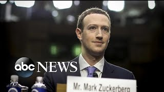 Facebook CEO Mark Zuckerberg testifies before senators on data scandal
