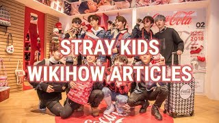 stray kids answer wikihow articles