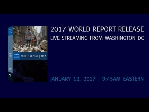 Live: Kenneth Roth, Executive Director of Human Rights Watch