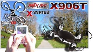 MJX X906T Mini FPV REVIEW TEST DEMO / COMPLET ET SURPRENANT !