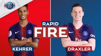 RAPID FIRE 🔥 - EPISODE 1 with Julian Draxler & Thilo Kehrer
