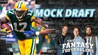 Fantasy Football 2015 Mock Draft Episode Free HD Video