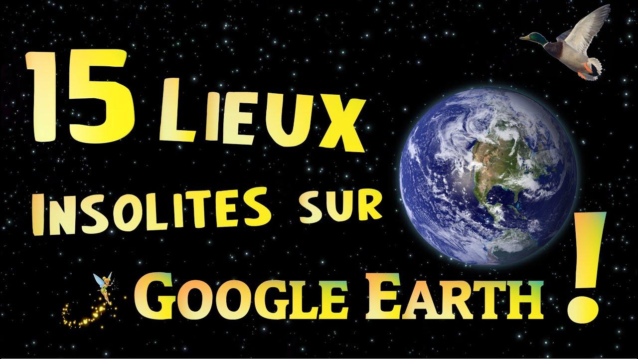 15 lieux insolites sur google earth youtube. Black Bedroom Furniture Sets. Home Design Ideas