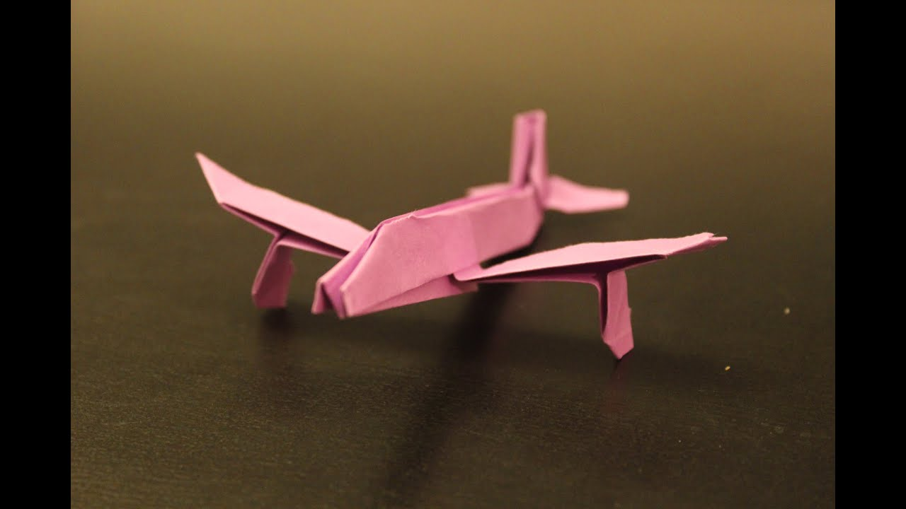 How To Make An Airbus A320 Origami Paper Plane Instruction