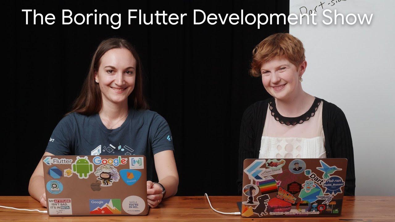 Dart-side and Dark-side (The Boring Flutter Development Show, Ep. 34)