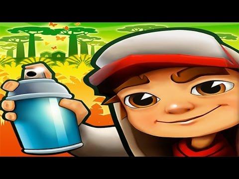 Subway Surfers Madagascar Full Gameplay for Children Full HD