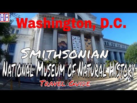 Washington, D.C | National Museum of Natural History | Tourist Attractions | Episode# 12