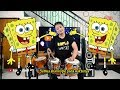 SPONGEBOB KOPLO VERSION gagak (lirik koplo time)