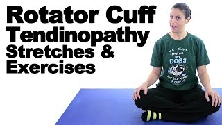 Rotator Cuff Tendinopathy Stretches & Exercises - Ask Doctor Jo