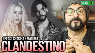 Baixar REAGINDO a Shakira, Maluma - Clandestino (Official Video)