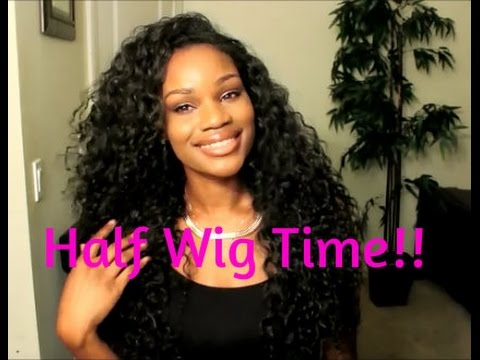 15 peruvian half wig outre sistawigs youtube
