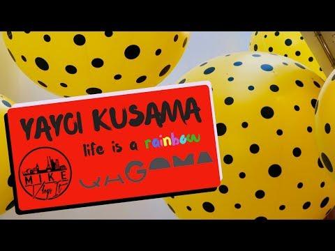 QAGOMA YAYOI KUSAMA - GOMA - Life is the heart of a Rainbow Exhibition - BRISBANE VLOG