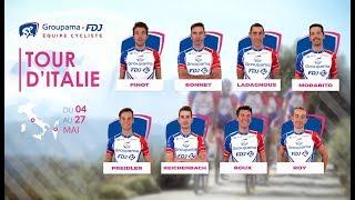 Tour d'Italie 2018 : la bande-annonce de l'Équipe Groupama-FDJ