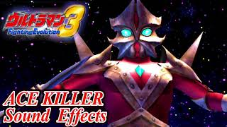 Ultraman FE3 - ACE KILLER - Sound Effects