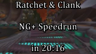 Ratchet & Clank - NG+ Speedrun in 20:16 [WR]