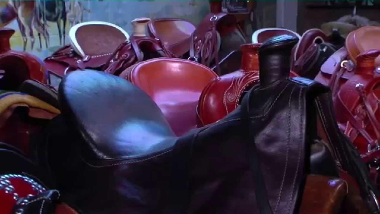 El arte de fabricar sillas de montar a caballo tvagro - Silla de montar espanola ...