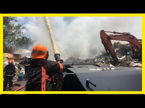 Singapore: Fire breaks out at scrap metal yard in Defu Industrial Estate