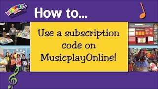 How to Use a Subscription Code for MusicplayOnline