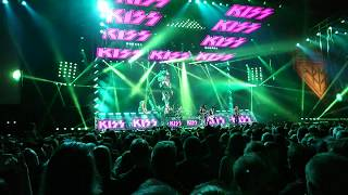 KISS Oslo Spektrum May 7 2017 - I Was Made for Lovin' You / Detroit Rock City