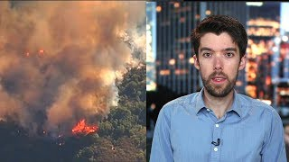 """Scientist Daniel Swain on """"Unprecedented Climate Conditions"""" Contributing to Deadly CA Wildfires thumbnail"""