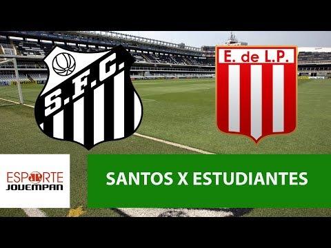 Santos 2 X 0 Estudiantes - 24/04/18 - Libertadores