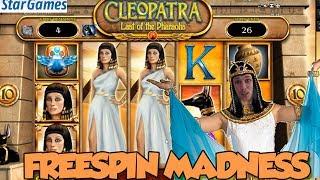 Online Slot - Cleoṗatra Big Win and LIVE CASINO GAMES (Casino Slots)