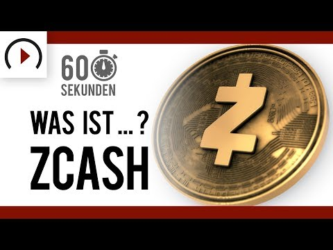 Was Ist Zcash? ⏳ In 60 Sekunden - Vlogchain - Video. Blockchain. News.