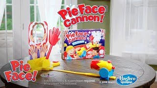 'Pie Face Cannon' Official Teaser - Hasbro Gaming