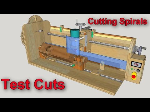 Router Mill/Lathe Test Cuts 2