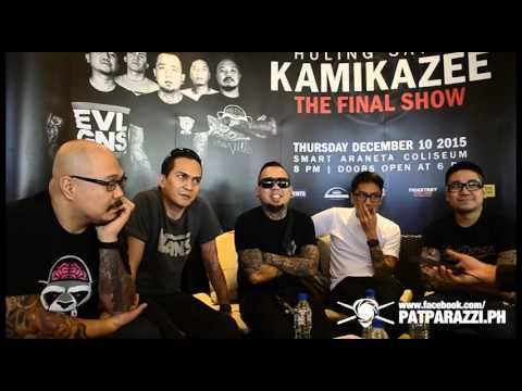 Kamikazee Huling Sayaw PressCon Interview by Patparazzi PH